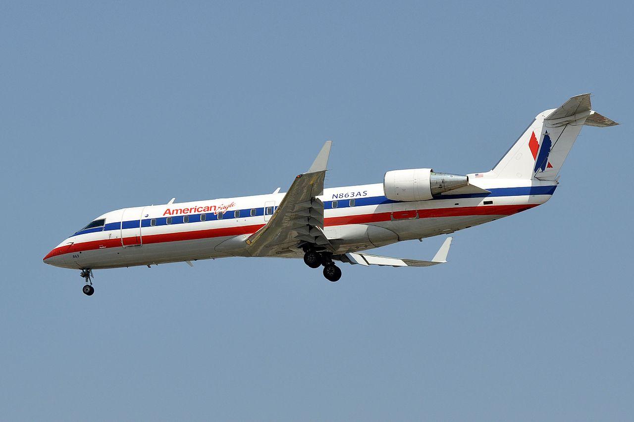 American Eagle SkyWest Airlines Canadair CRJ-200, N863AS - LAX