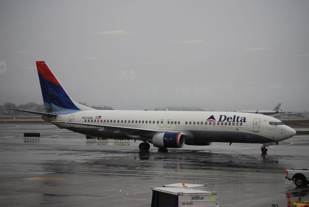 Boeing 737-832(WL) of Delta Air Lines N3750D at Logan International Airport