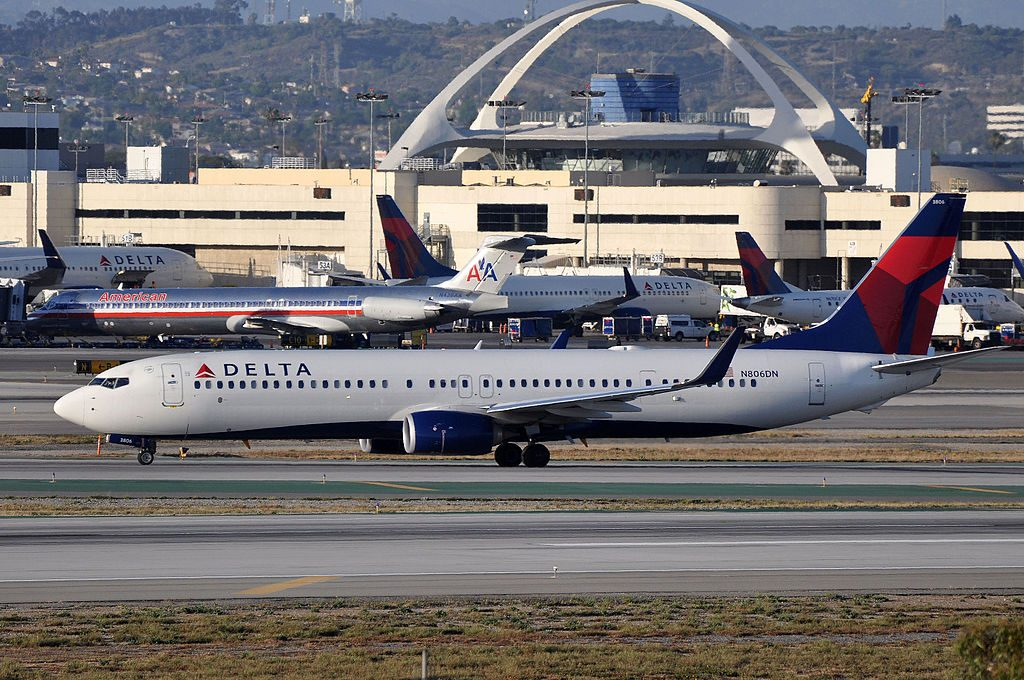 Boeing 737-932(ER) cn:serial number- 31914:4672 Delta Air Lines N806DN at LAX AIRPORT