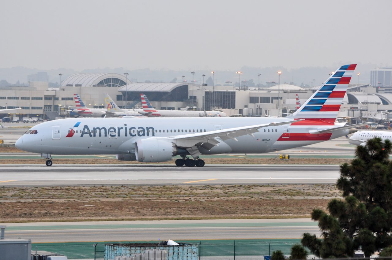 Boeing 787 8 N814aa American Airlines Wide Body Aircraft