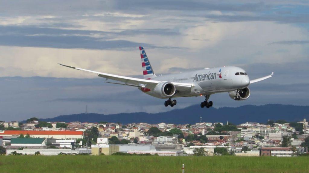 Boeing 787-9 Dreamliner - American Airlines - Landing at São Paulo