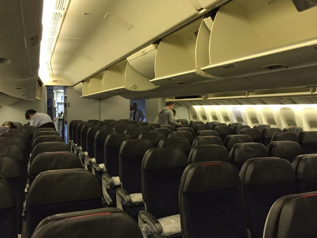 DFW to Hong Kong | American Airlines 777-300ER Main Cabin Extra