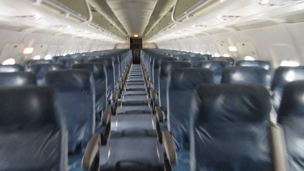 Delta Air Lines Airbus A320-200 Main Cabin Standard Economy Class Seats Configuration