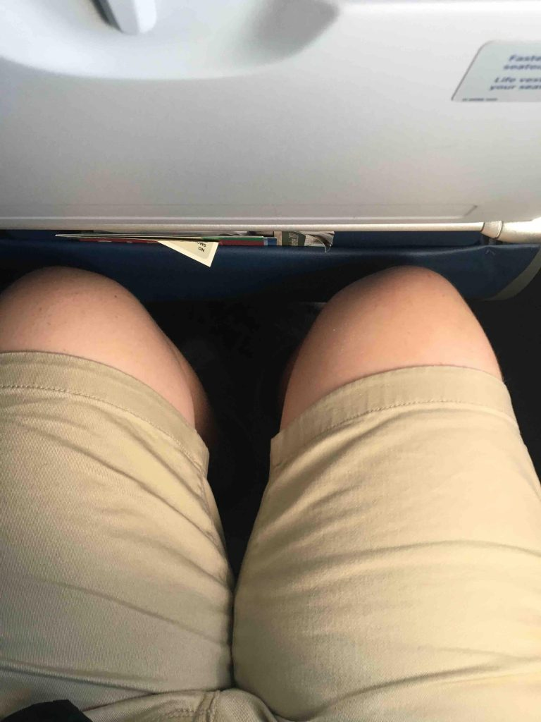 Delta Air Lines Airbus A320-200 Standard Economy Seats Pitch Legroom Photos