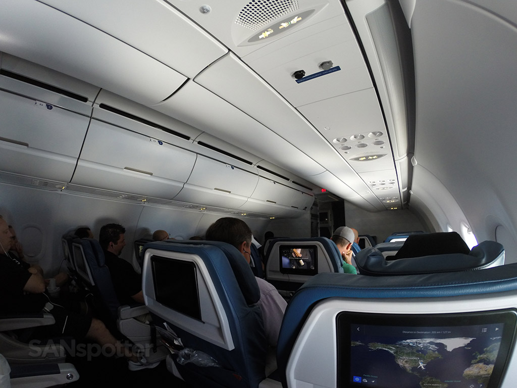 Delta Air Lines Airbus A321-200 First Class Cabin photos @SANspotter