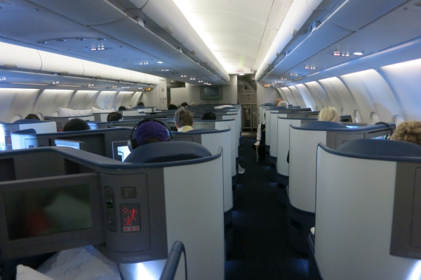 Delta Air Lines Airbus A330-200 Business Elite Class (Delta ONE) Cabin Interior Photos
