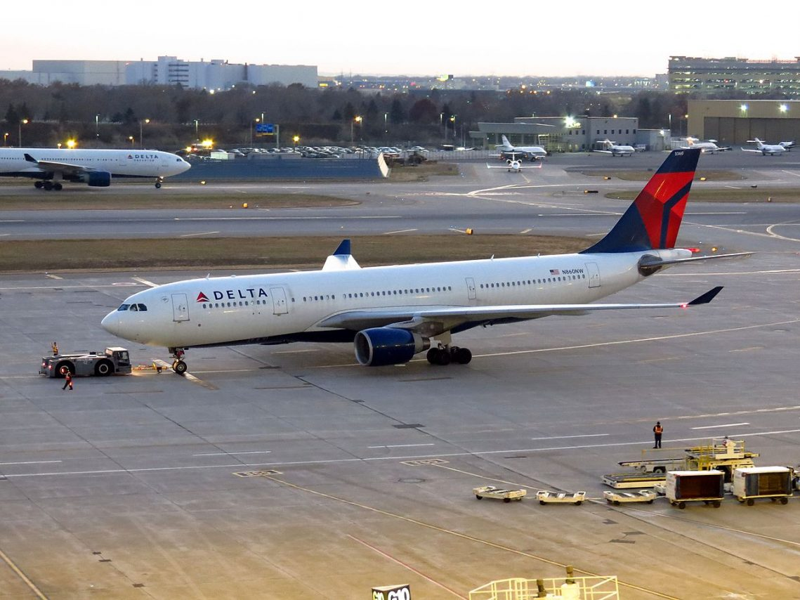 Delta Air Lines Airbus A330-200 Minneapolis-Saint Paul International Airport
