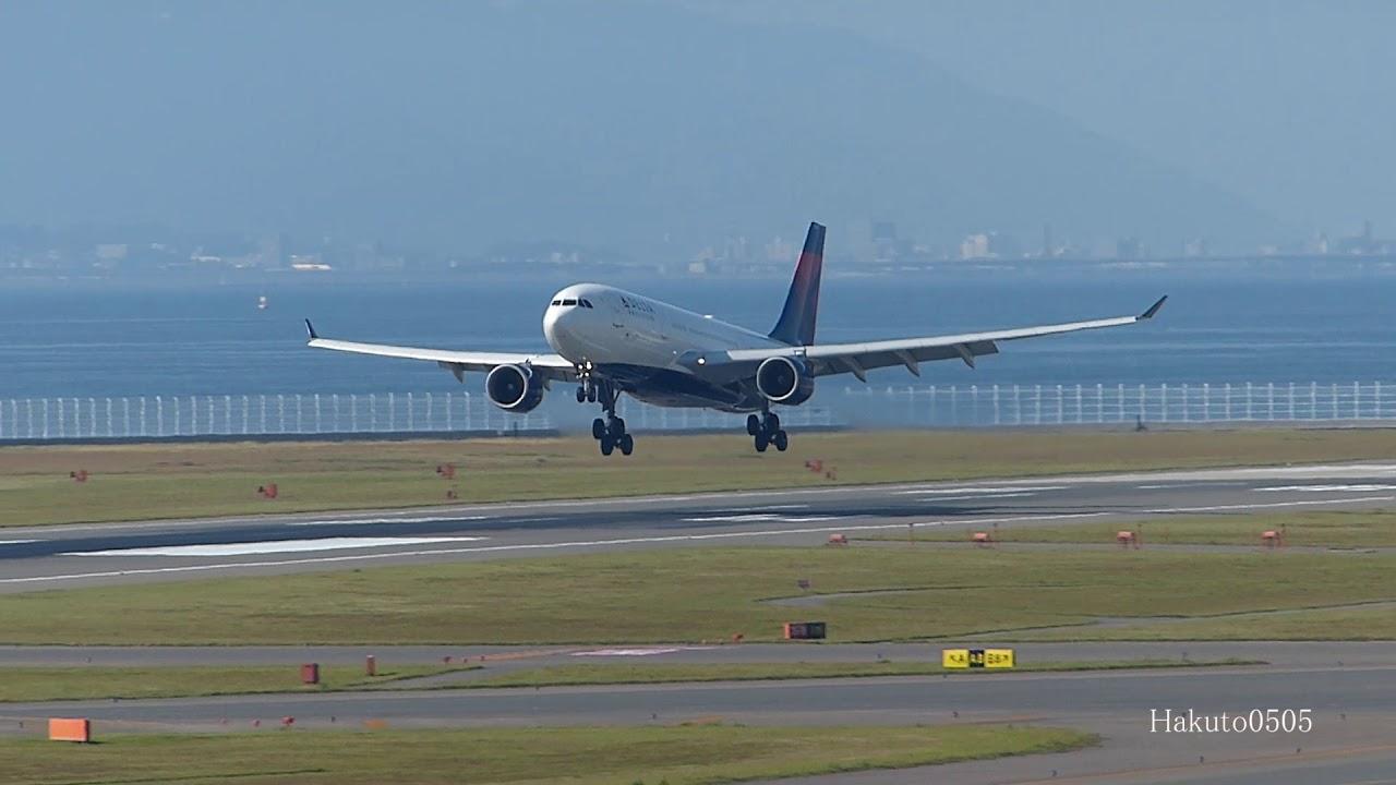 Delta Air Lines Airbus A330-223 N851NW Landing at Nagoya @Hakuto0505