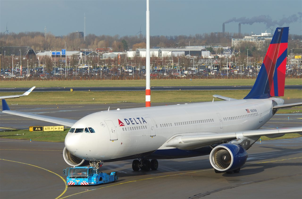 Delta Air Lines Airbus A330-223; N861NW @AMS