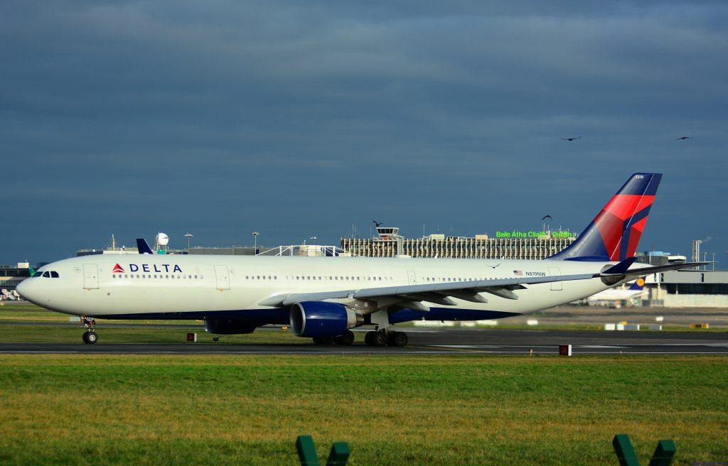 Delta Air Lines Airbus A330-300 N819NW EIDW Dublin Airport
