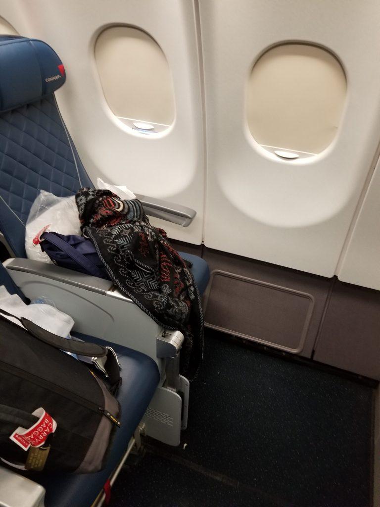 Delta Air Lines Airbus A330-300 Premium Economy (Comfort+) Bulkhead Seats Photos