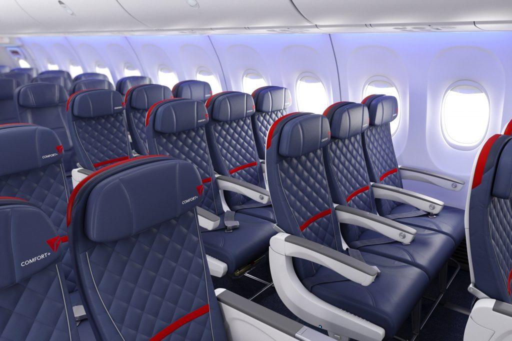 Delta Air Lines Airbus A330-300 Premium Economy (Comfort+) Seats Configuration Photos