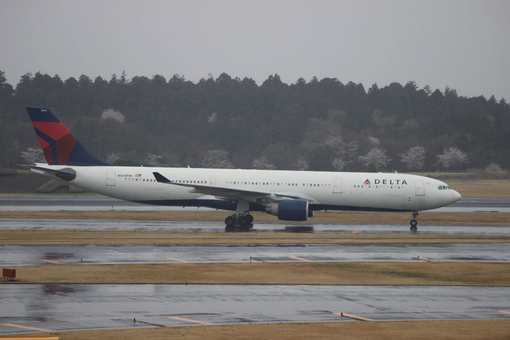 Delta Air Lines Airbus A330-323X N814NW Narita International Airport (NRT:RJAA),JAPAN