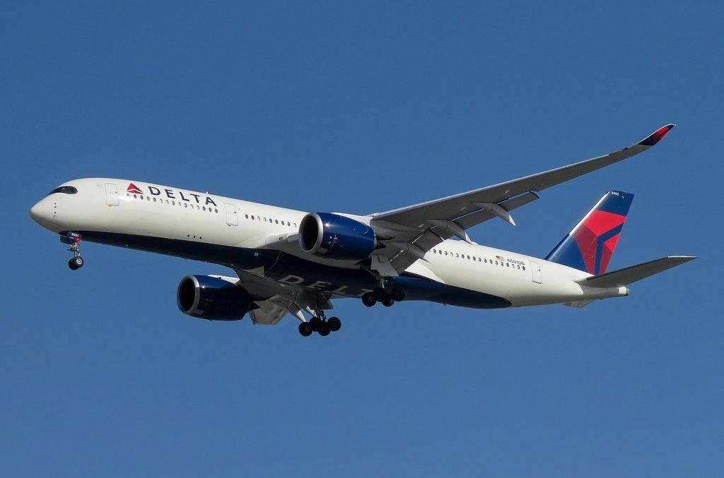 Delta Air Lines Airbus A350-900 N501DN @PEK Beijing Capital International Airport