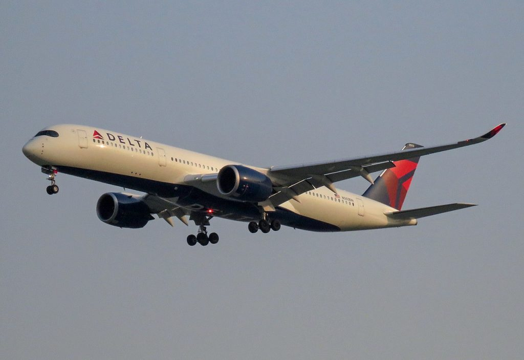 Delta Air Lines Airbus A350-900 N503DN @PEK Beijing Capital International Airport