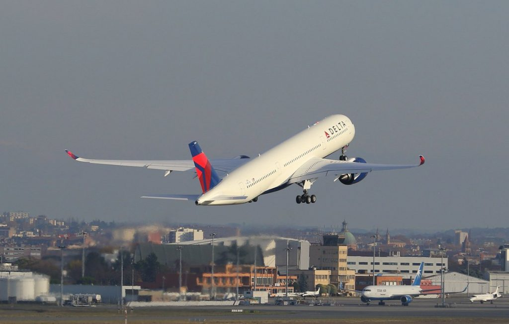 Delta Air Lines Airbus A350-900 N505DN Test Flight Photos