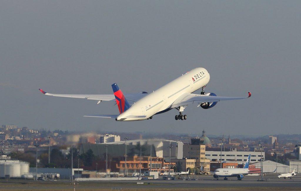 Delta Air Lines Airbus A350-900 N505DN Test Flight Photos