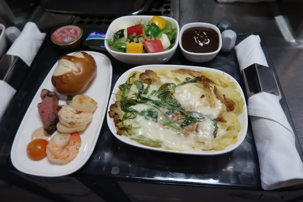 Delta Air Lines Airbus A350-900 Premium Select Class Inflight Dining Menu
