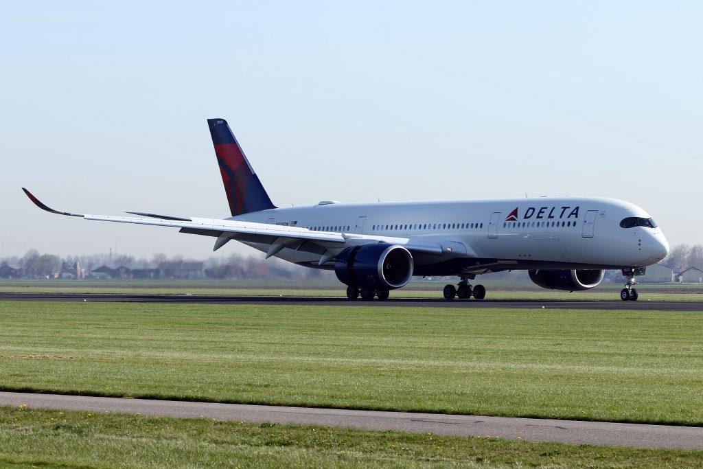 Delta Air Lines - Airbus A350-941 (N508DN) Amsterdam Airport Schiphol