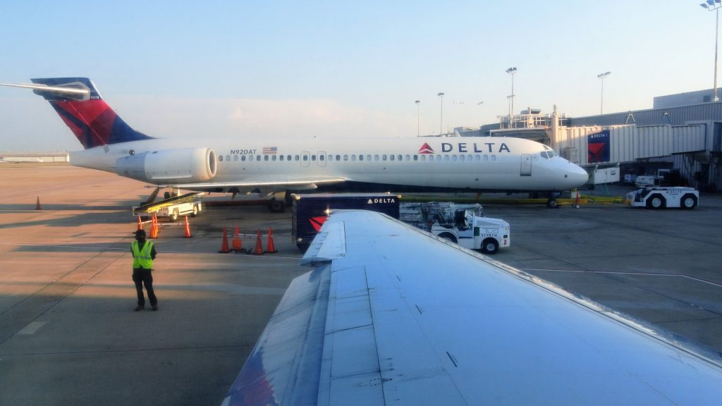 Delta Air Lines Boeing 717-200 N920AT at Hartsfield–Jackson Atlanta International Airport