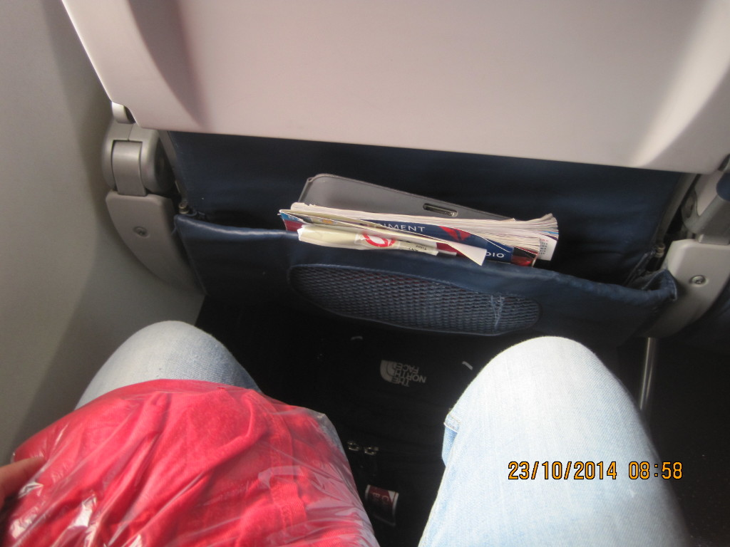 Delta Air Lines Boeing 737-700 Economy Class Seats Pitch Legroom Photos