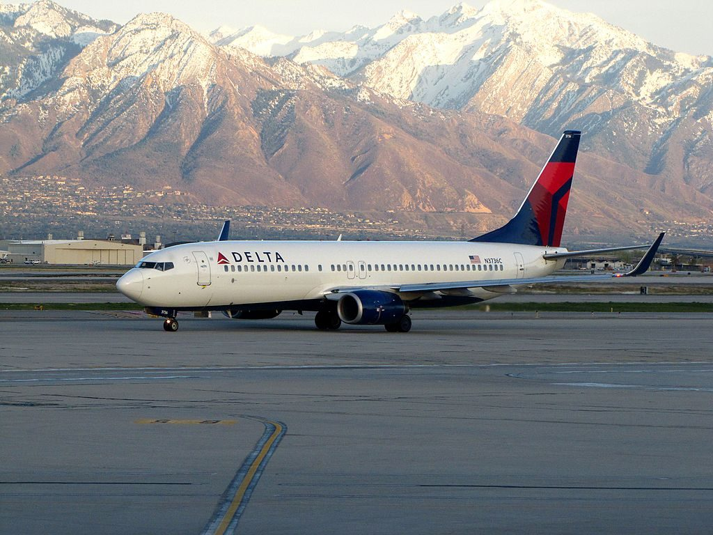 Delta Air Lines Boeing 737-800 N3736C at Salt Lake City International Airport