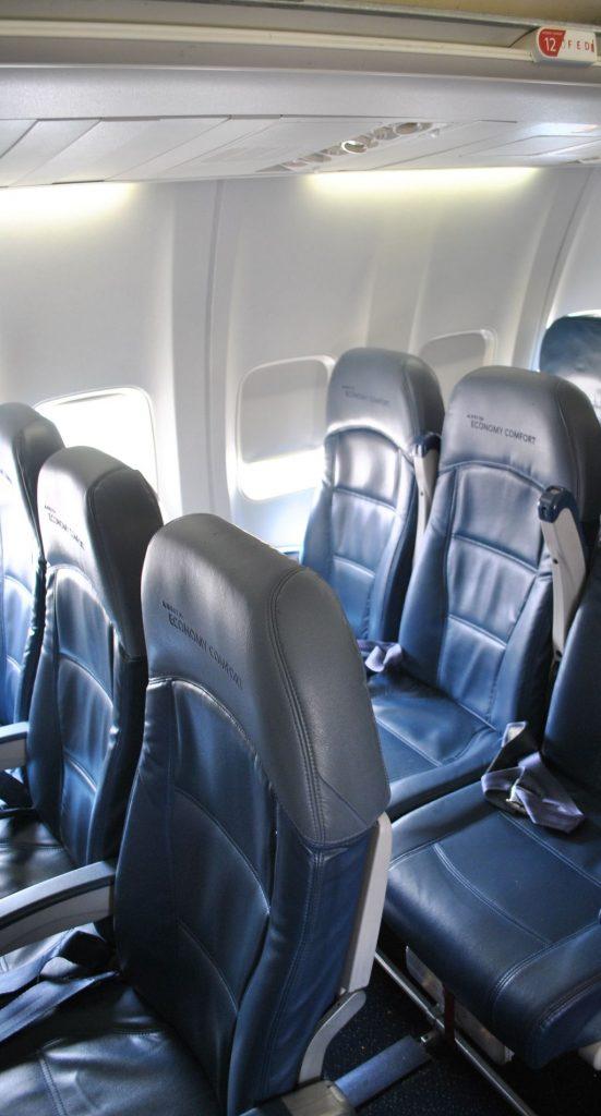 Delta Air Lines Boeing 737-800 Premium Economy (Comfort+) Seats Configuration Photos