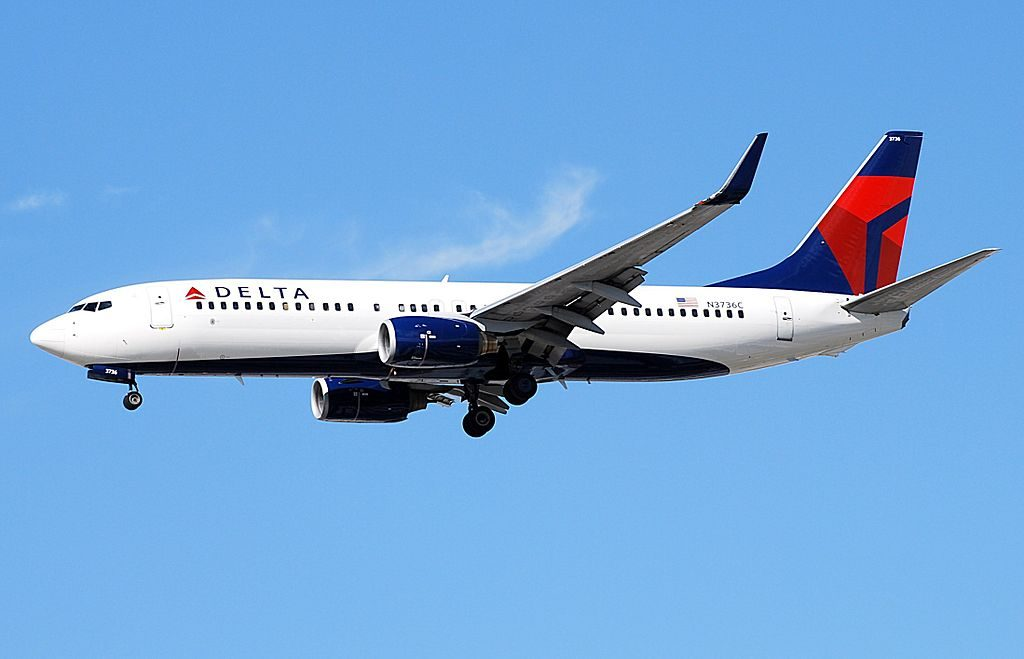 Delta Air Lines Boeing 737-832 N3736C Las Vegas - McCarran International (LAS : KLAS) USA - Nevada