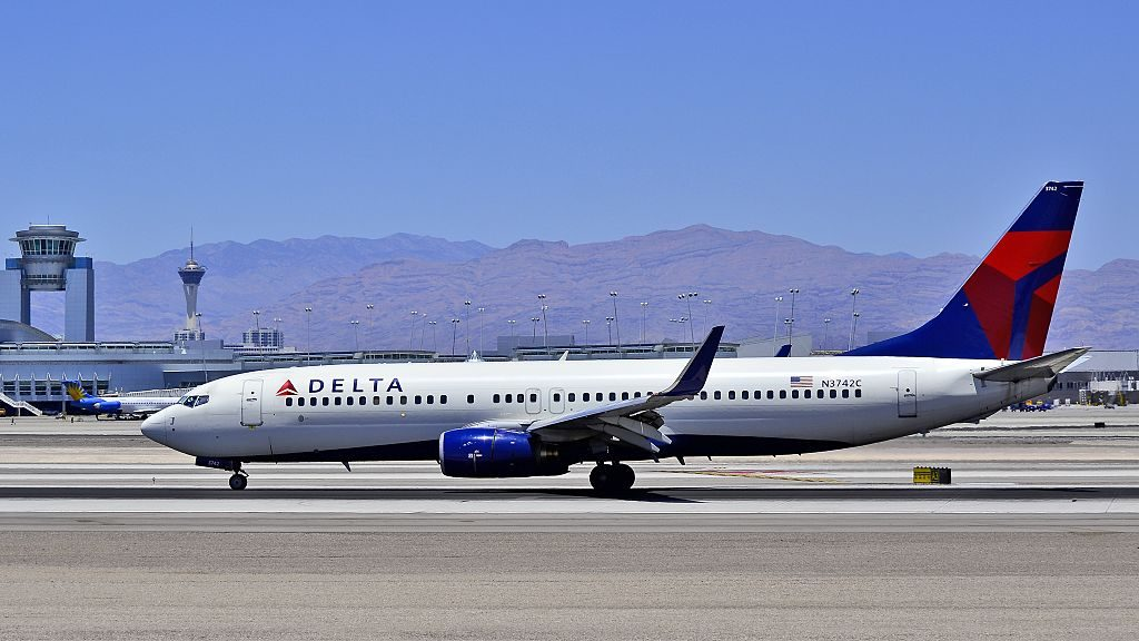 Delta Air Lines Boeing 737-832 N3742C Las Vegas - McCarran International (LAS : KLAS) USA