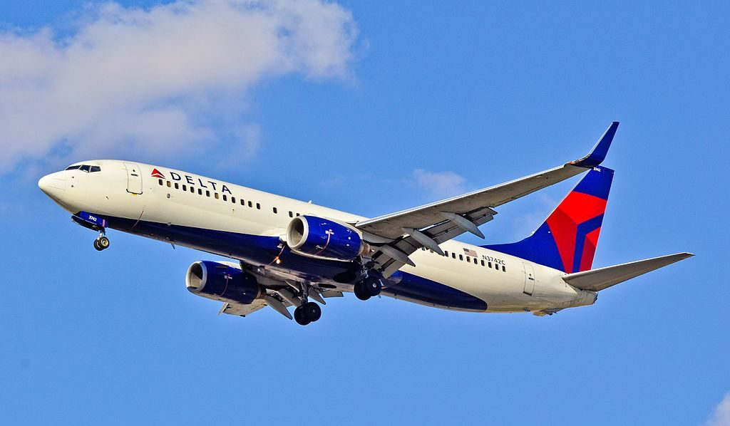 Delta Air Lines Boeing 737-832 N3742C Las Vegas - McCarran International (LAS : KLAS) USA - Nevada