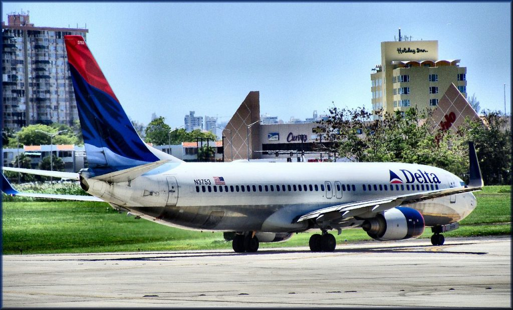 Delta Air Lines Boeing 737-832 N3753 (cn 32626-899) San Juan - Luis Munoz Marin International (SJU : TJSJ) Puerto Rico Aeroparque