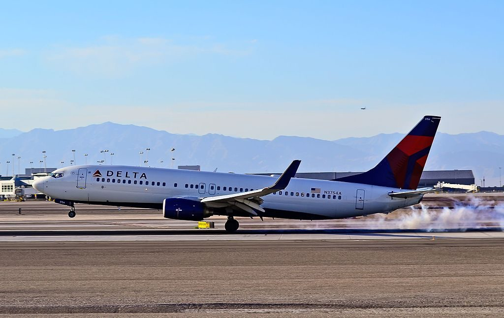 Delta Air Lines Boeing 737-832 N3754A Las Vegas - McCarran International (LAS : KLAS) USA - Nevada