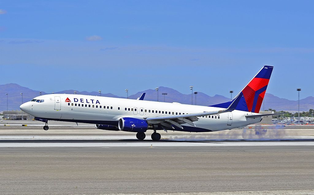 Delta Air Lines Boeing 737-832 N3756 Las Vegas - McCarran International (LAS : KLAS) USA - Nevada