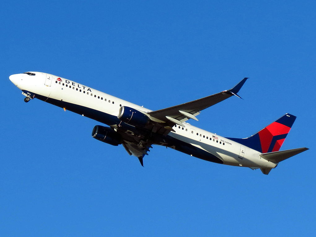 Delta Air Lines Boeing 737-900:ER N834DN Hartsfield-Jackson Atlanta International Airport