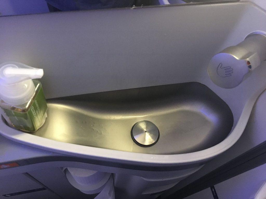Delta Air Lines Boeing 737-900ER Premium Economy (Comfort+) Cabin Lavatory Photos