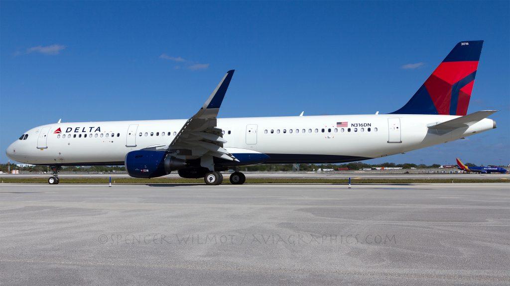 Delta Air Lines Fleet Airbus A321-211SL F-WZMR, N316DN (MSN 7327) @Spencer Wilmot