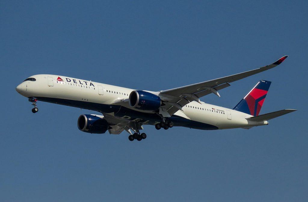 Delta Air Lines Fleet Airbus A350-900 N506DN @PEK Beijing Capital International Airport
