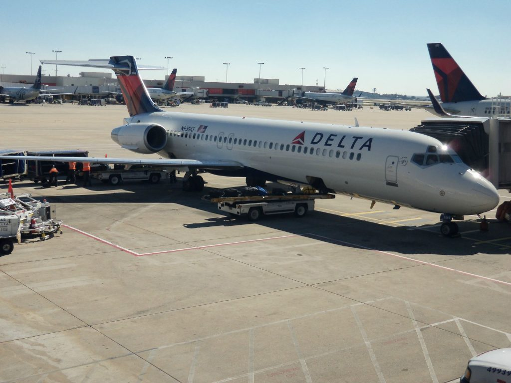 Delta Air Lines Fleet Boeing 717-200 N935AT at Denver International Airport
