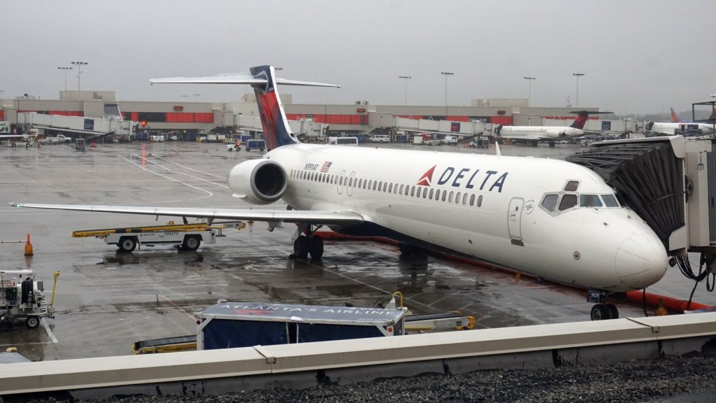 Delta Air Lines Fleet Boeing 717-200 [N991AT] Routes Roanoke - Atlanta