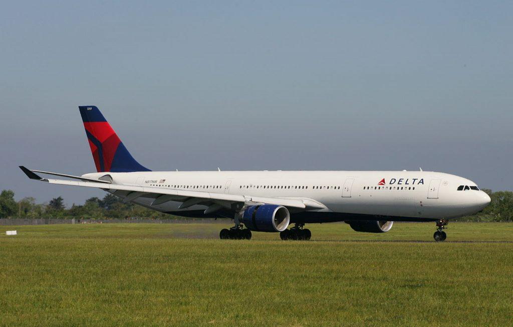 Delta Air Lines Fleet N817NW Airbus A330-300 Dublin Airport Ireland