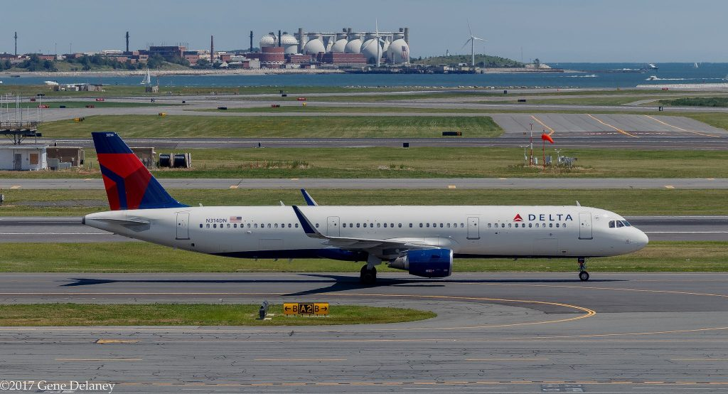 Delta Air Lines N314DN Airbus A321-211 WL MSN 7281 FN 3014 @Gene Delaney