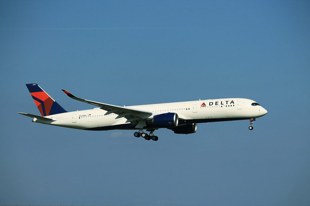 Delta Air Lines N502DN Airbus A350-900 HSV touch-and-go Landing