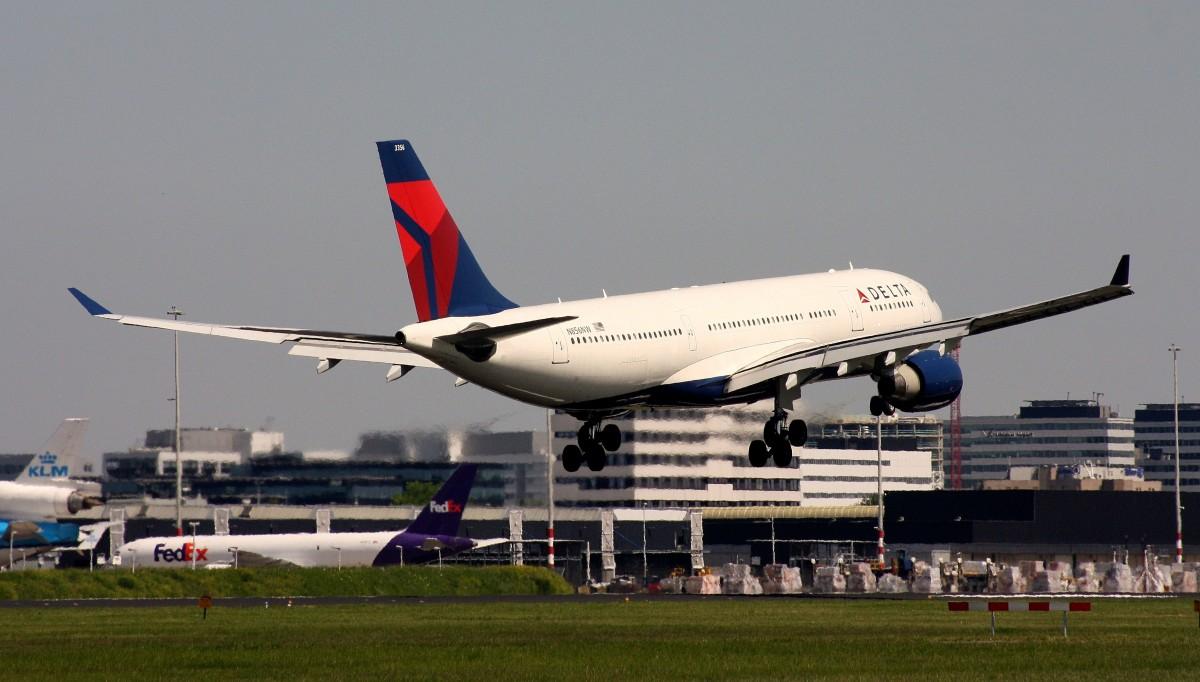 Delta Air Lines N856NW (c:n 631) Airbus A330-223 AMS-EHAM Amsterdam-Schiphol Niederlande