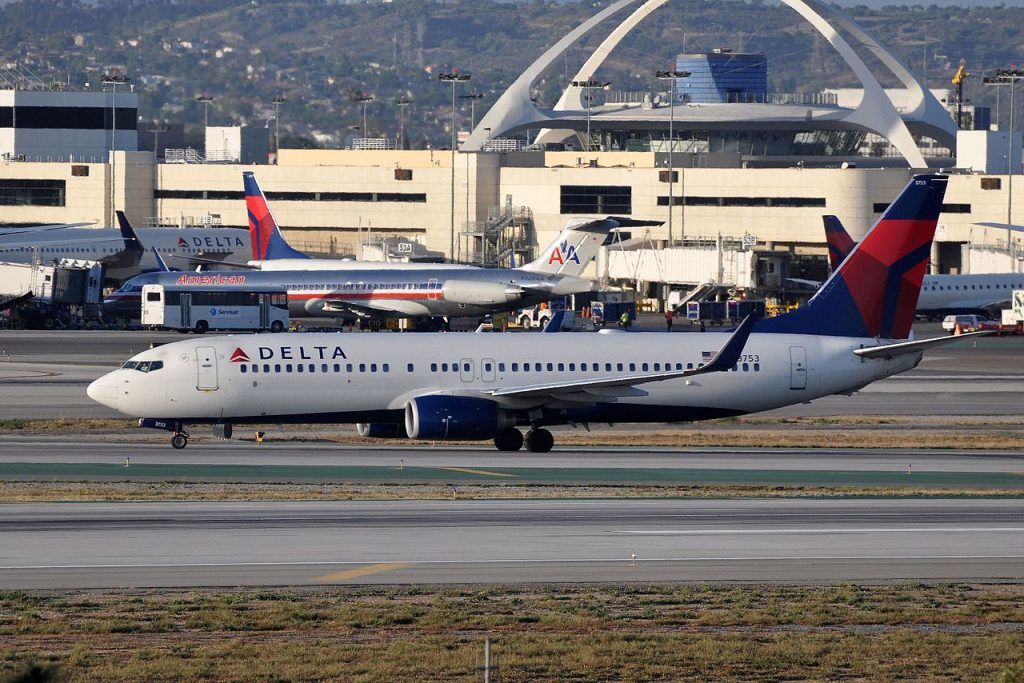 Delta Air Lines Narrow Body Fleet Boeing 737-832(WL), N3753 - LAX