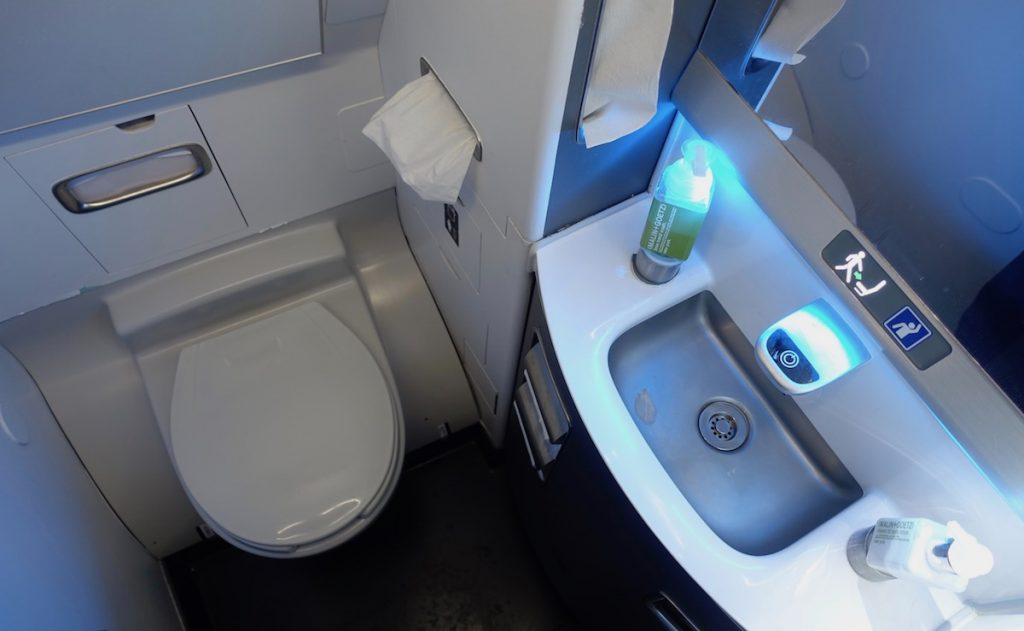 Delta Airlines Airbus A319-100 Lavatory Bathrooms Photos