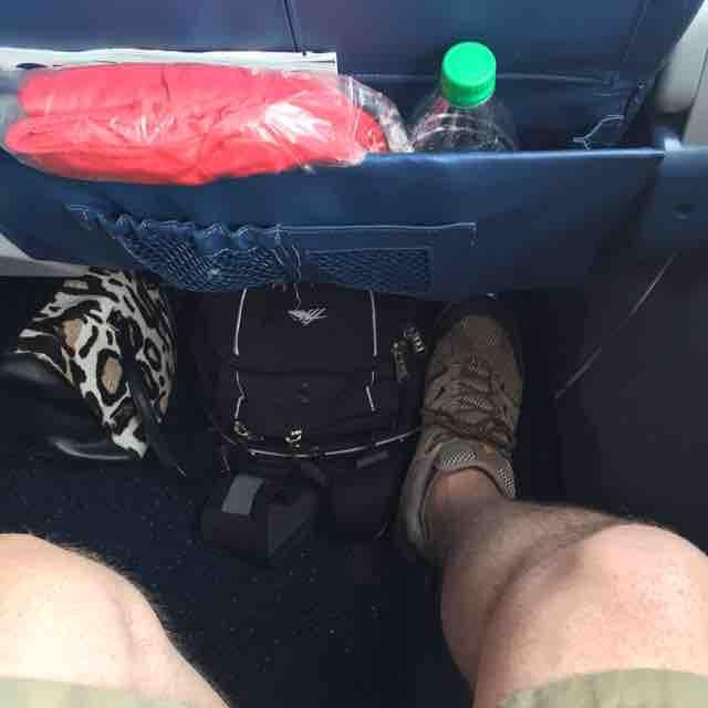 Delta Airlines Airbus A320-200 Economy Comfort+ Seat Pitch Legroom Photos