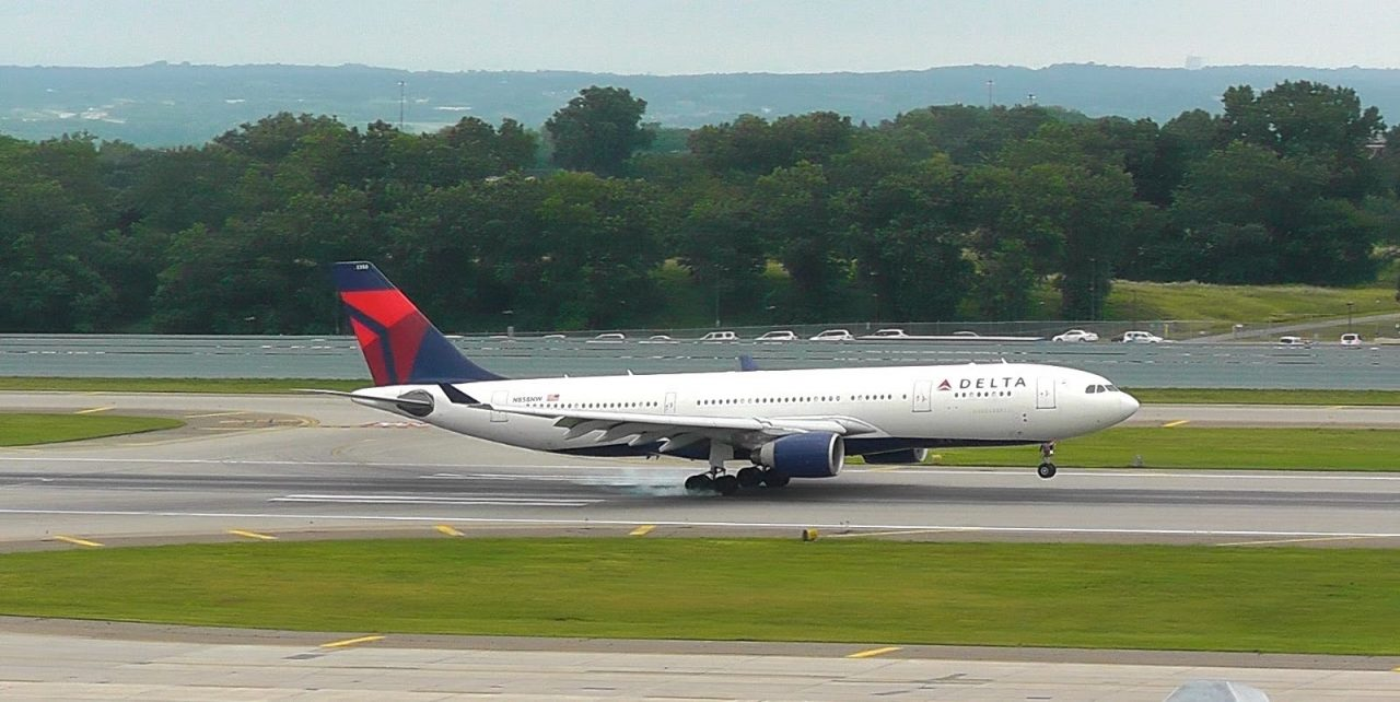 Delta Airlines Airbus A330-223 | N858NW | Arriving from Paris | Minneapolis:St. Paul Int'l