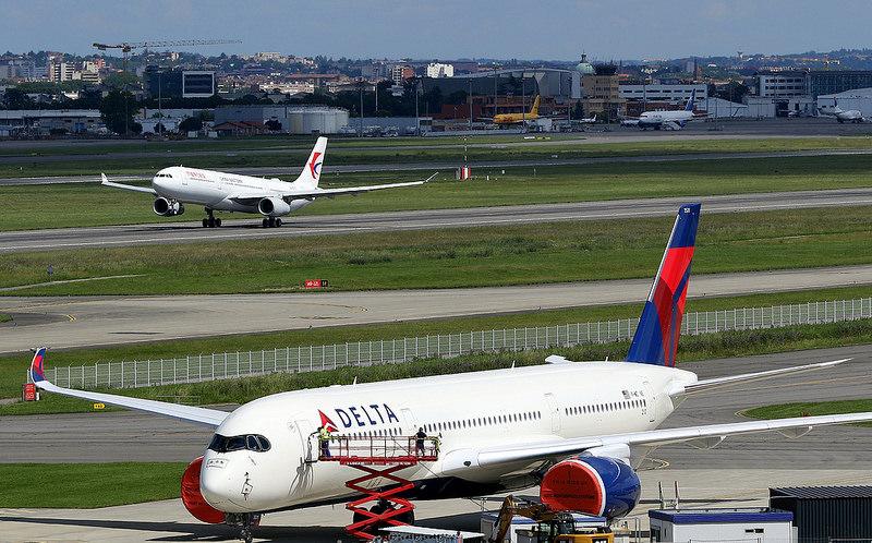 Delta Airlines Fleet Airbus A350-941 cn 210 F-WZNE N511DN Photos