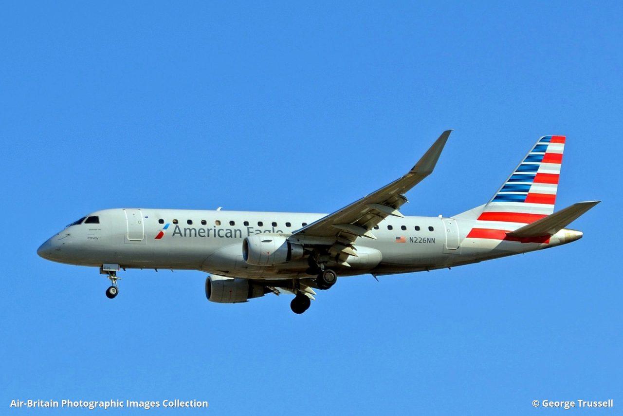 Embraer ERJ-170-200LR (ERJ-175) · American Eagle - Republic Airlines (RW : RPA) · Toronto - Pearson International (YYZ : CYYZ), Canada - Ontario @George Trussell
