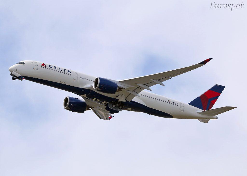 F-WZFH N509DN Airbus A350-900 Delta Air Lines by @eurospot